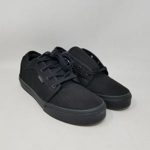 Vans Chukka Low Blackout Sneakers Youth's Size 5